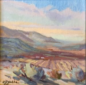 plein air landscape magical oil painting eastern washington laura gable