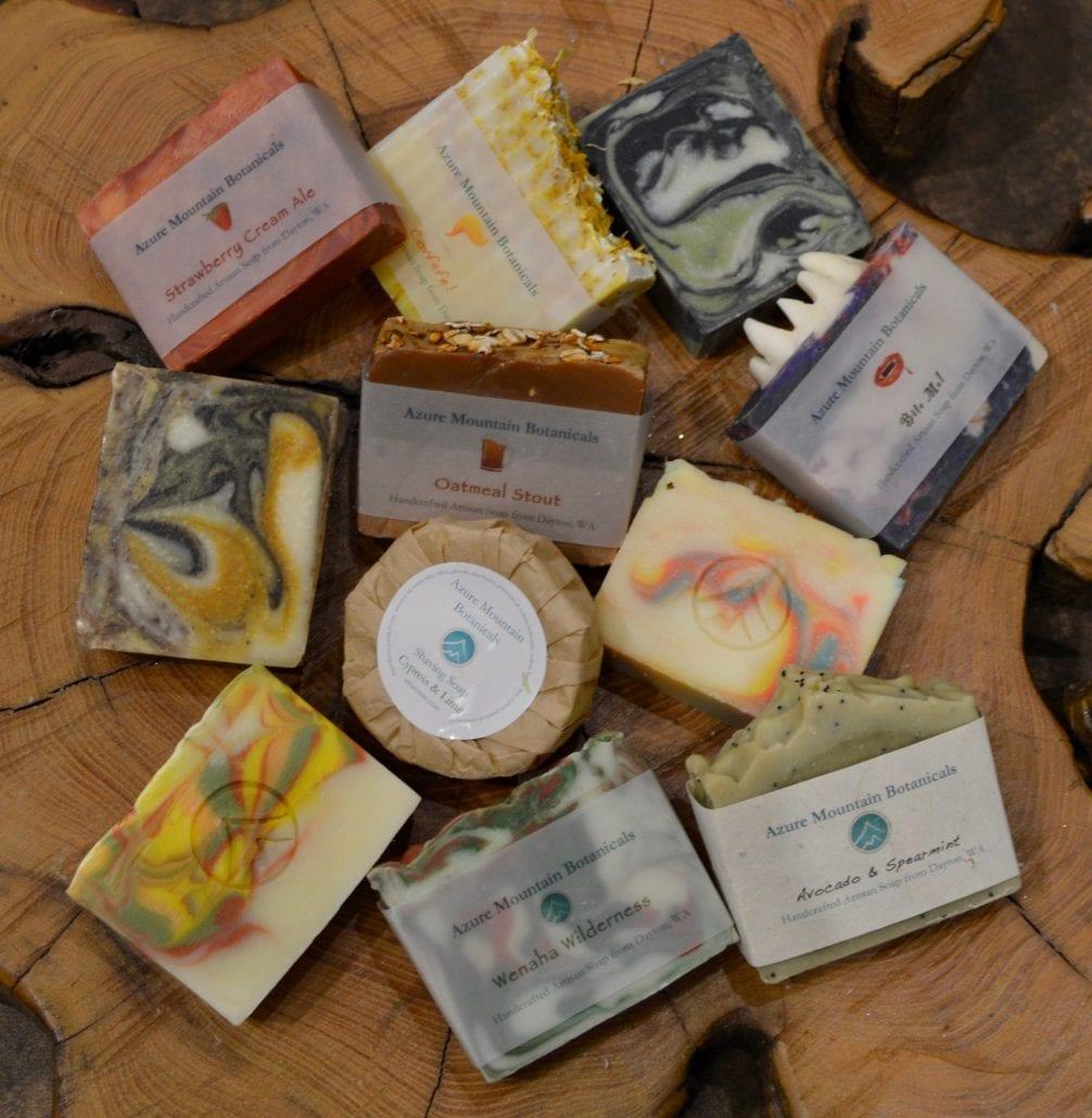 artisan natural soap azure botanicals dayton wa