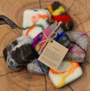 artisan handcrafted wooly soap bars azure botanicals dayton wa