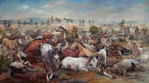 horse slaughter camp history government indian native american wars nona hengen