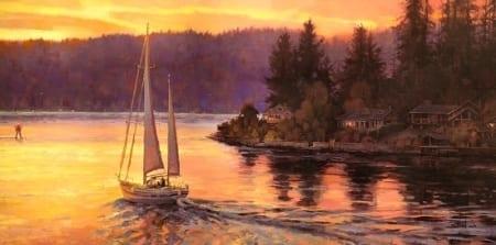 Sailing on the Sound - Steve Henderson