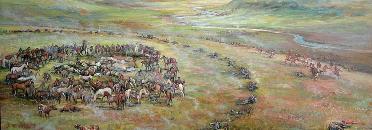 steptoe battlefield spokane indian wars 1858 nona hengen historical painting