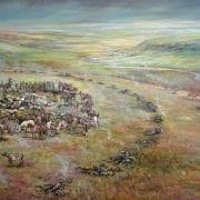 steptoe battlefield spokane indian wars 1858 nona hengen historical painting