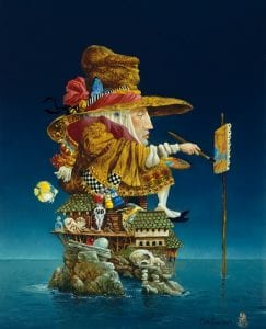 artist's island james christensen everyman fantasy art