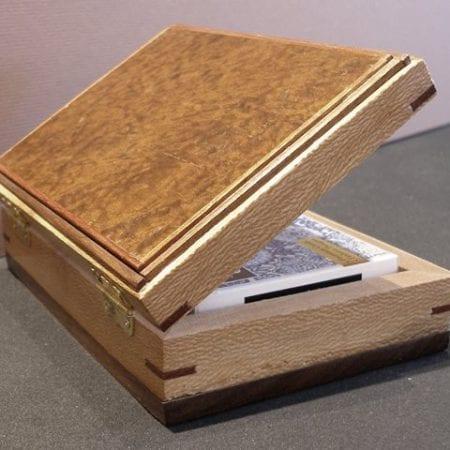 Card Box with Walnut and Imbuia