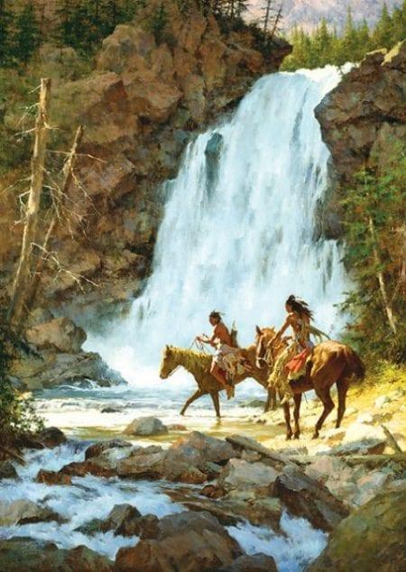 Crossing Below the Falls