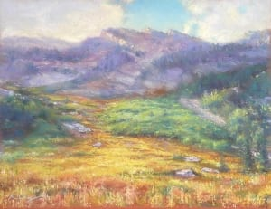 paintbrush canyon mountain country landscape kirk campagna physician artist
