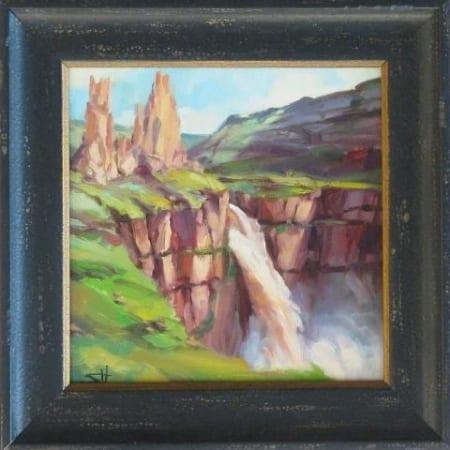 Palouse Falls Rush
