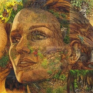 Bev Doolittle Earth Is My Mother Camouflage Art