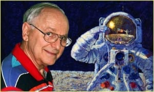alan bean astronaut moon space exploration paintings art