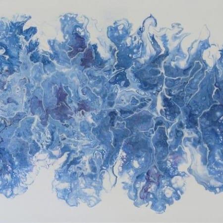 Acrylic Pour #12