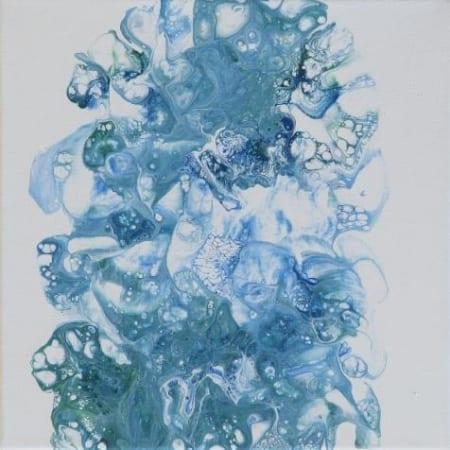 Acrylic Pour #18