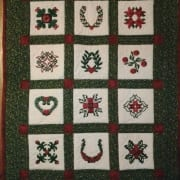 baltimore albumn quilting embroidered wall hanging patricia bennett christmas fabric art