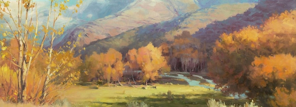 Indian Summer eastern washington country rural farm ranch painting steve henderson