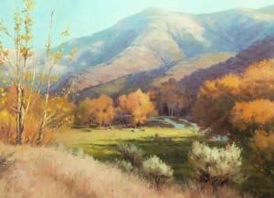Indian Summer eastern washington country rural farm ranch beauty painting steve henderson