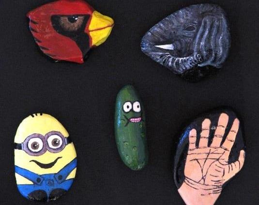 painted-rocks-jacquelyn-silvester-dayton-random-kindness