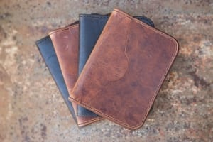 penta leather wallet western handcrafted jeremiah colladay