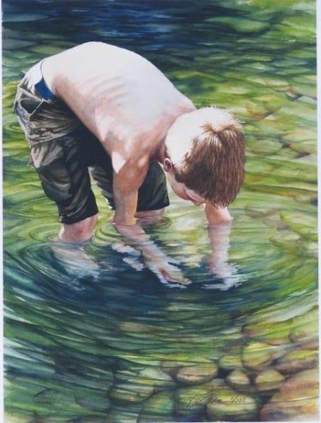 treasure in the creek