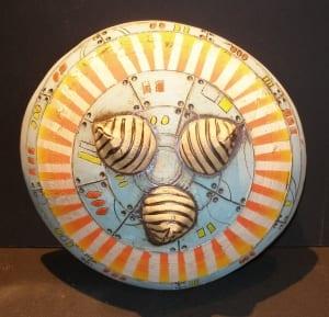 rocket theme ceramics pottery clay bowl kassie smith