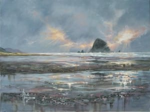 cannon beach oregon coast highway 101 paul henderson art