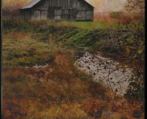 quiet country photography landscape barn luann ostergaard