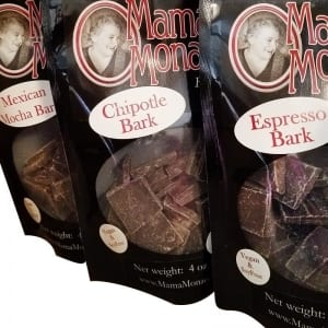 chocolate candy bark flavored sweet snack mama monacelli