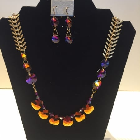 Necklace & Earrings Set - Glimmer