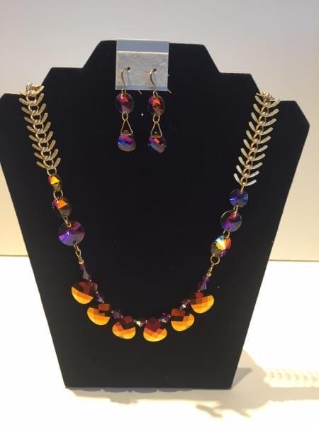 Necklace & Earrings Set - Glimmer