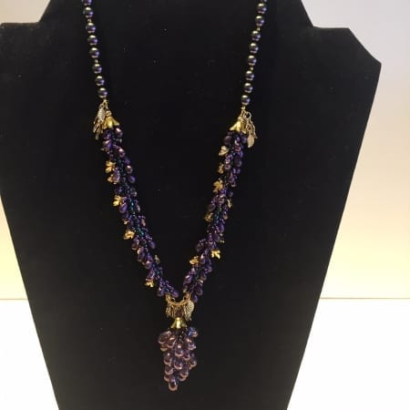 Necklace - Grape Design