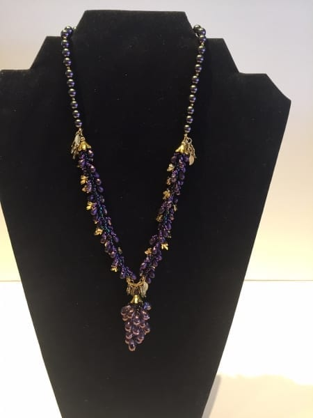 Necklace - Grape Design