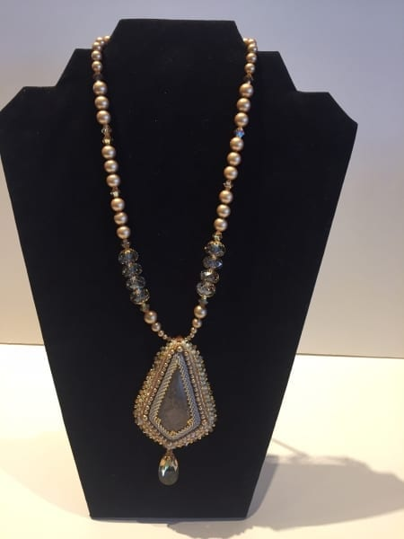 Necklace - Beaded Pendant