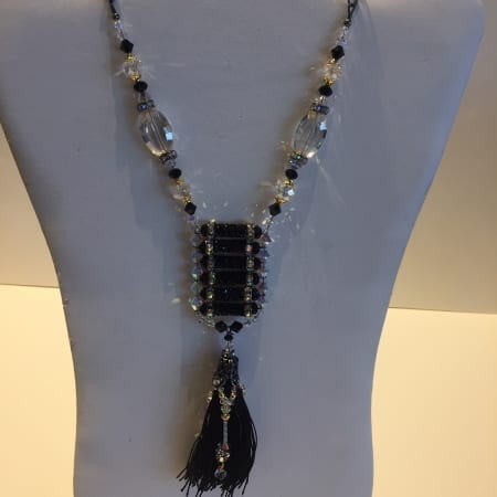 Necklace - Hand Woven Tassel