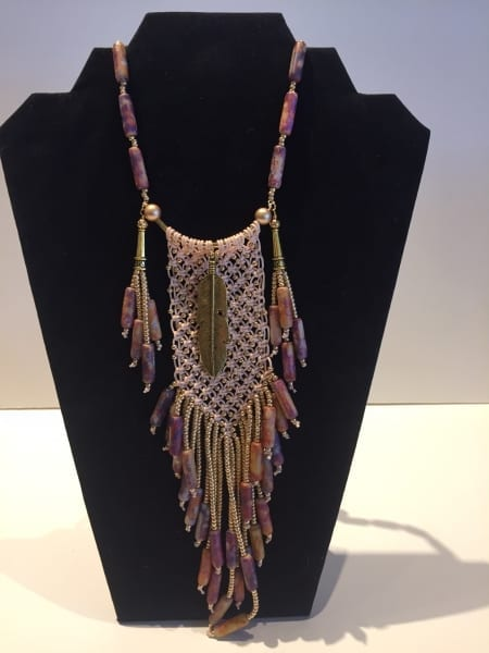 Necklace - Intricate Woven Design