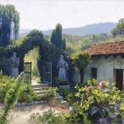 mission gate vineyard courtyard home house june carey