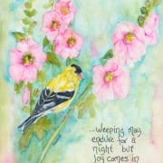 Morning joy bird bible promises Psalms Shawna Wright