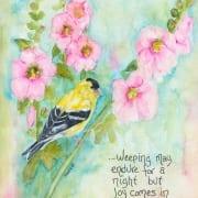 Morning joy bird bible promises Psalms Shawna Wright
