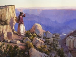indian indigenous native american turning point steve henderson painting