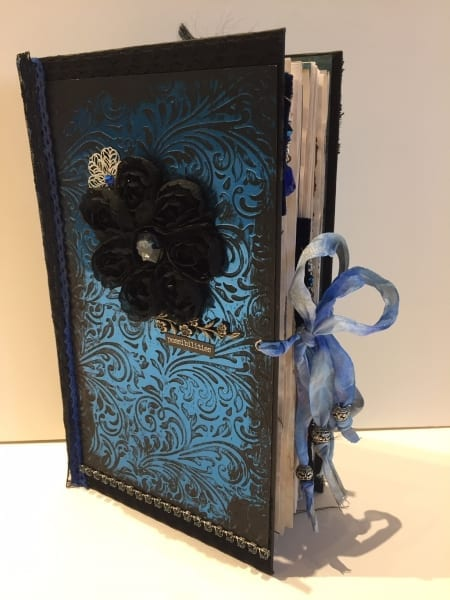 Blue Hardcover Journal