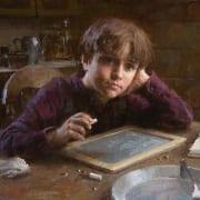daydreamer imagining boy student morgan weistling