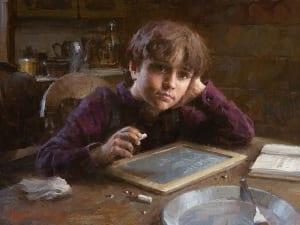 daydreamer imaginative boy student morgan weistling