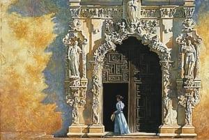 victorian woman gracious cathedral heidi presse