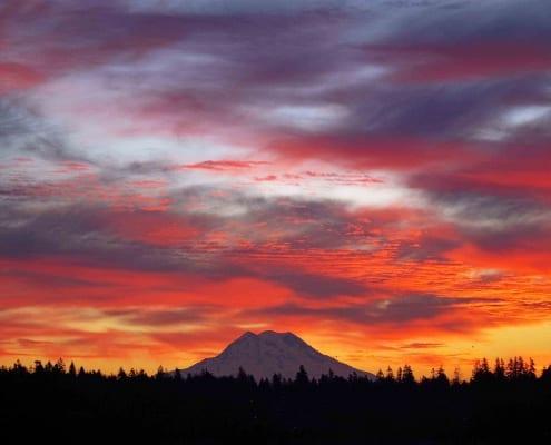 mountain sunrise photography landscape wessels galbreath