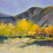 pastel landscape canyon mountains edna bjorge art