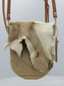 emaline african deer hide bag purse pozzanghera