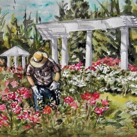 Gardner at Manito Park