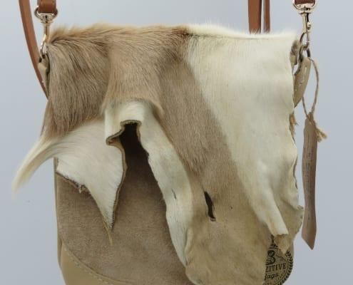 African Deer Hide Bag