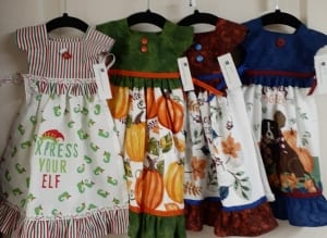 fabric towel kitchen aprons sewing kathy snow
