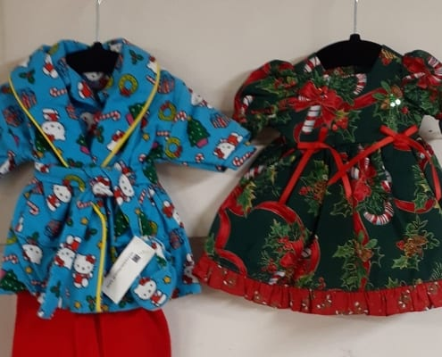 doll clothes sewing fabric christmas kathy snow