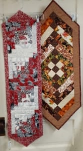 quilting holiday table runners fabric