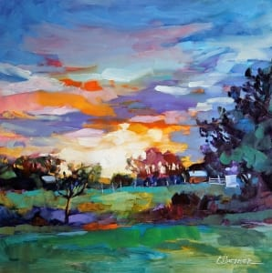landscape not uptight relaxed breathe peaceful impressionist painting carol betker